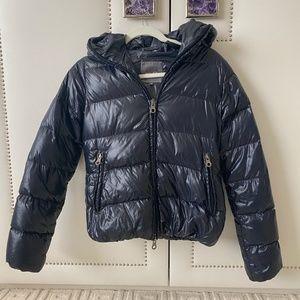 Navy Duvetica Puffer Jacket